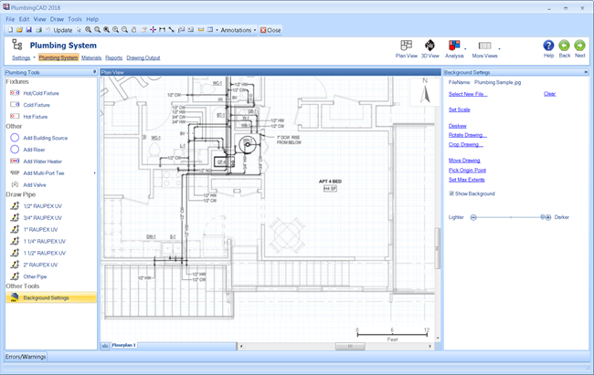 Plumbingcad Plumbing Design Software