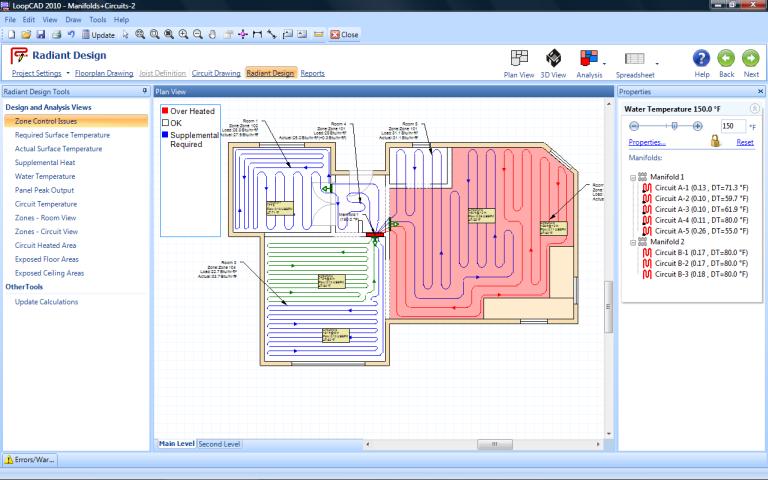 Loopcad Radiant Heating Software